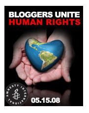 Blogsphere comes together for human rights; Bloggers Unite