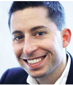 Photograph of Michael Pranikoff, Director, Emerging Media at PR Newswire