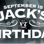Jack Daniel�s Jacktember Facebook and Twitter Birthday Celebration