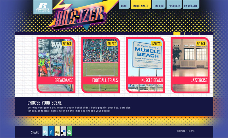 80s-izer site screen shot example