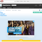 Play Weight Watchers TV ad and social media campaign activity