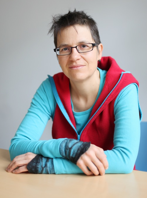 Photograph of Katja Schurter editor and journalist at Solidar Suisse
