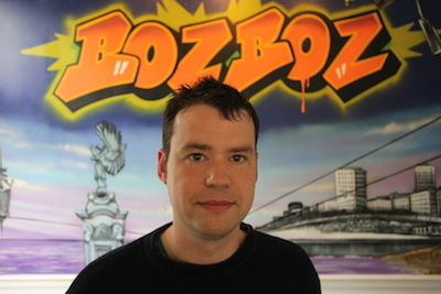 Photograph of Mike Hollingbery, CEO of Bozboz