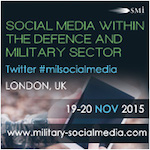 Exclusive interviews with new 77th Brigade member and Italian Naval Staff College on social media within the military domain