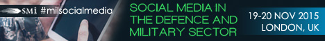 Social Media in the Defence and Miltary Sector banner