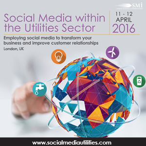 SMi Group 5th Annual Social Media in the Utilities Sector Conference 2016 banner