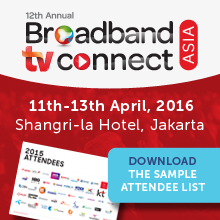 Broadband TV Connect Asia banner