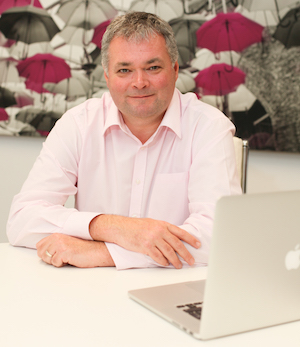 Photograoph of Russell Pierpoint, managing director at Evolved Media Solutions (EMS)