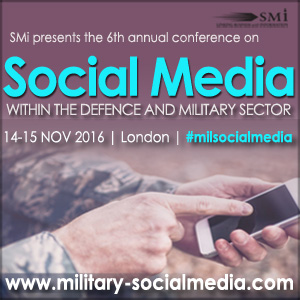 6th Social Media Within the Defence and Military Sector 2016 banner 300x300