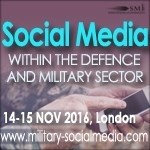 Agenda released for the 6th Social Media Within the Defence and Military Sector Event