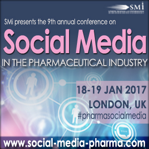 9th Social Media in the Pharmaceutical Industry 2017 banner 300x300