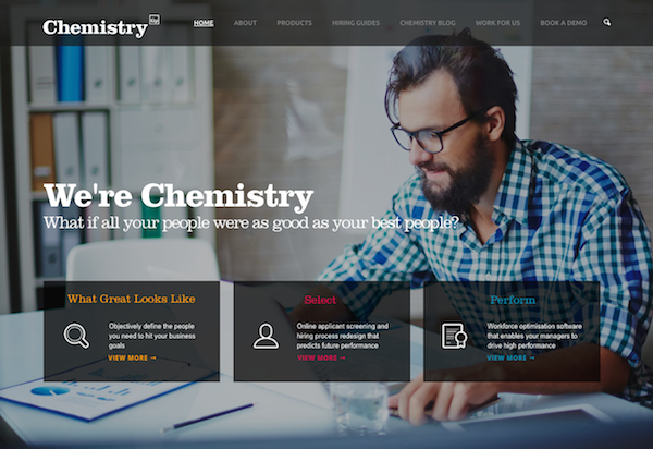 The Chemistry Group website image