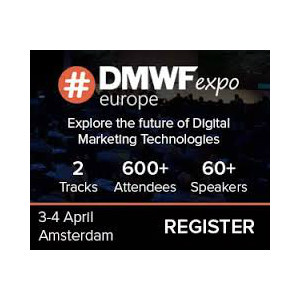 DMWF Expo Europe 2017 - Digital Marketing World Forum banner