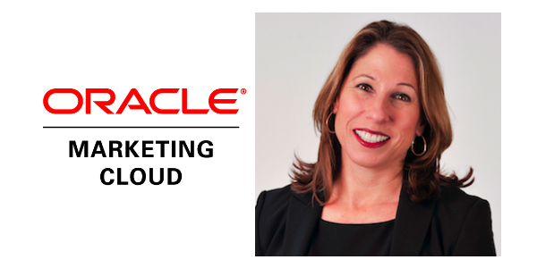 Photograph of Sylvia Jensen, the senior director of marketing for Oracle Marketing Cloud