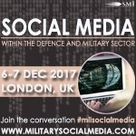 Attendee List released for SMi's MilSocialMedia 2017