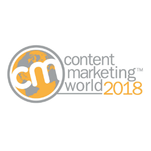 Content Marketing World Conference & Expo 2018 logo