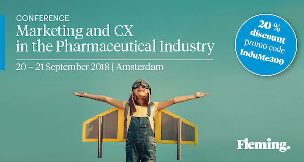 Marketing and CX in the Pharmaceutical Industry Conference 600x