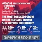 ADAS & Autonomous Vehicles USA 2018