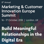 eyeforpharma's Marketing & Customer Innovation Europe 2018
