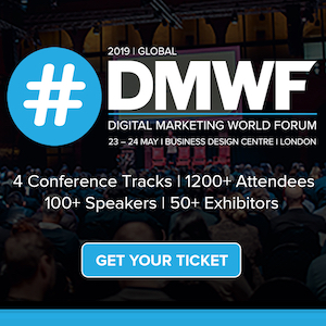 DMWF Global 2019 - Digital Marketing World Forum - London 2019 banner 300x300