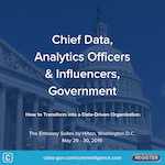 Chief Data Analytics Officers & Influencers, Government 2019