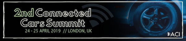 2nd Connected Cars Summit London 2019 banner 600x