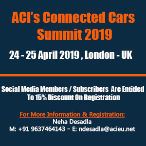 2nd Connected Cars Summit London 2019 banner 300x300