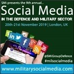 Q&A released with IOM - UN Migration ahead of the Social Media in the Defence and Military Sector 2019 Conference