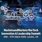 MarketsandMarkets MarTech Innovation & Leadership Summit 2020