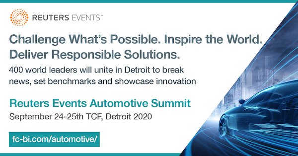 Reuters Events Automotive Summit banner and logo 600x314