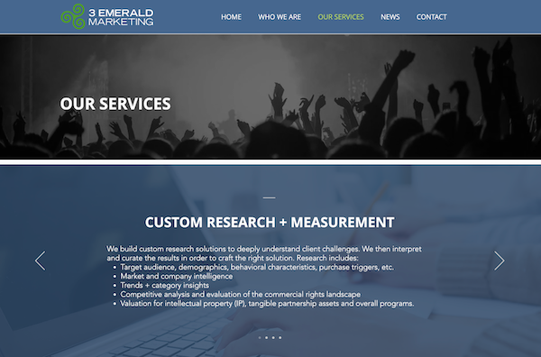 3 Emerald Marketing our services